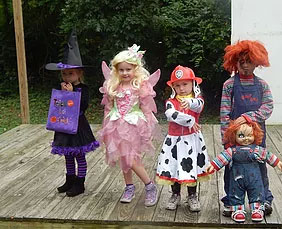 Holly Shores Camping Resort Cape May Halloween Events Tiny Tots 2